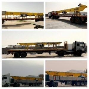 8 Ton Overhead Crane in Riyadh, Saudi Arabia
