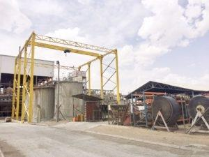 Lifting Solution for a Mining Project in Saudi Arabia