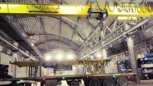 3.2 Ton Overhead Cranes in Saudi Arabia